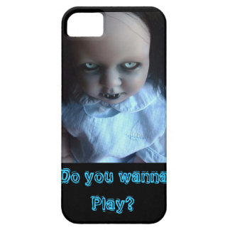 Play time Spooky Doll Phone Case