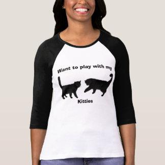 Play Time-Women's Bella 3/4 Sleeve Raglan T-Shirt