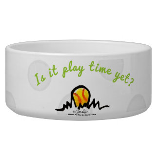 Play Time Yet Tennis Balls Bowl