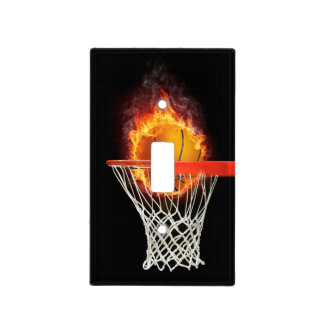 PLAY TO WIN Basketball | Sport Gifts Light Switch Cover
