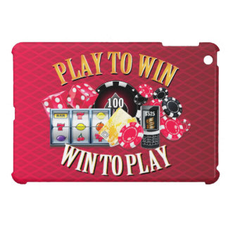 Play To Win iPad Case Options
