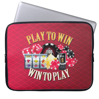 Play To Win Laptop Sleeve Options