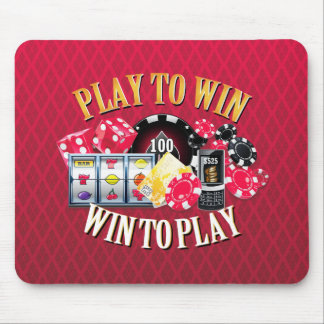 Play To Win Mousepad Options