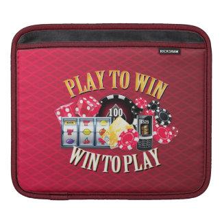 Play To Win  Sleeve Options iPad Sleeve
