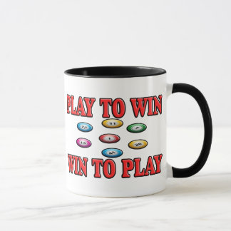 Play To Win - Win To Play - Keno Mug