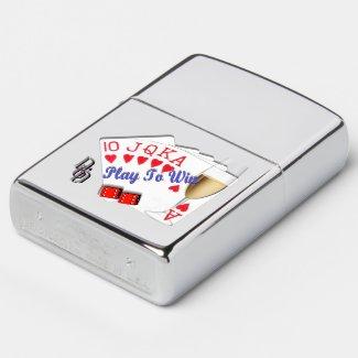 Play to Win Zippo Lighter