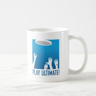 PLAY ULTIMATE! CLASSIC WHITE COFFEE MUG