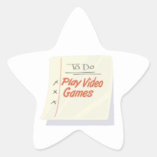 Play Video Games Sticker