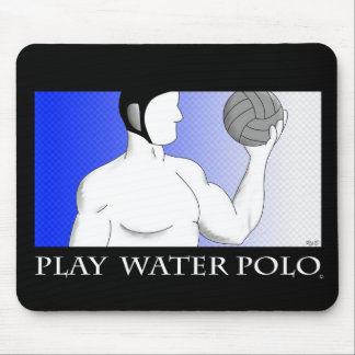 Play Water Polo Mouse Pad
