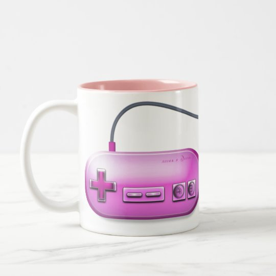 Play While Breakfast Two-Tone Coffee Mug