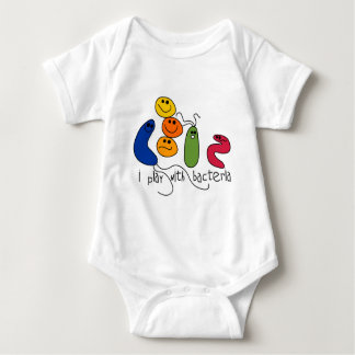 Play with Bacteria Baby Bodysuit