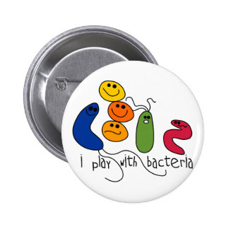 Play with Bacteria Pin