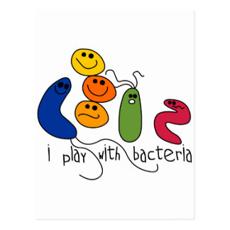 Play with Bacteria Postcard