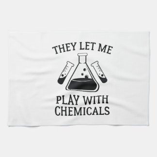 Play With Chemicals Towel