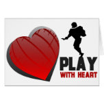 Play With Heart Football Cards