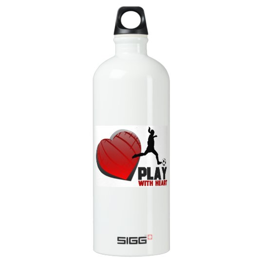 Play With Heart Girls Soccer Liberty Bottle