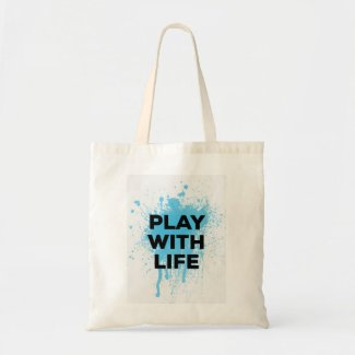 Play with Life tote