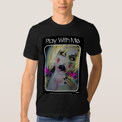 'Play With Me' American Apparel Shirt