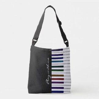 Play With Me Colorful Piano Keyboard Music Bag