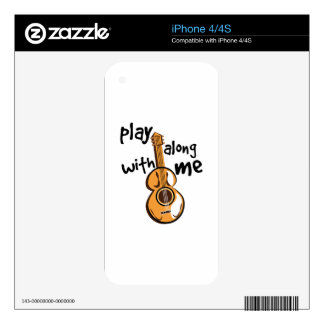 Play With Me Decals For The iPhone 4S