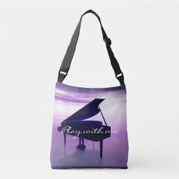 Beach Themed Play With Me Grand Piano on the Beach Music Bag