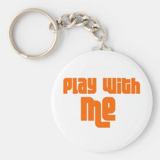 Play With Me Llavero Personalizado