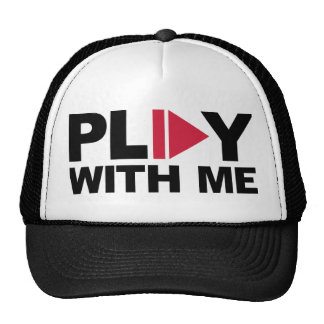 Play with me music trucker hat