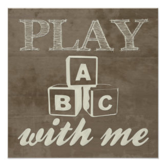 """Play With Me"" Print"