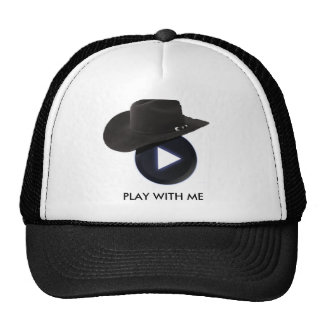 PLAY WITH ME TRUCKER HAT