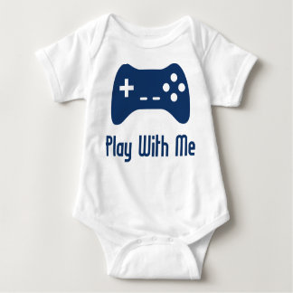 Play With Me Video Game Baby Bodysuit
