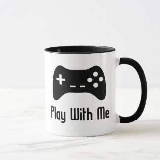 Play With Me Video Game Mug