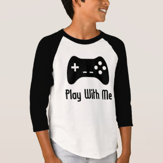 Play With Me Video Game T-Shirt