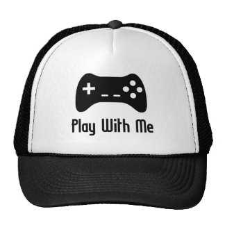Play With Me Video Game Trucker Hat