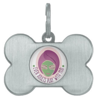 Play With Mud Pet Tag
