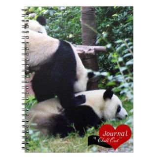 Play with Pandas, Giant Panda, Travel (Notebook) Notebook