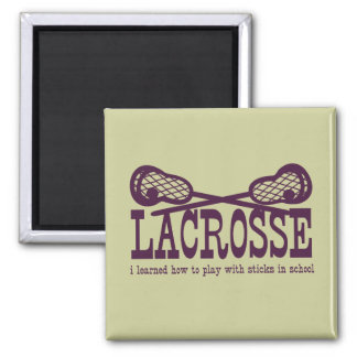 Play with Sticks 2 Inch Square Magnet