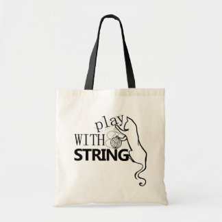 Play with String! Canvas Bag