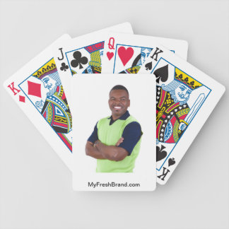 Play your cards right! bicycle playing cards