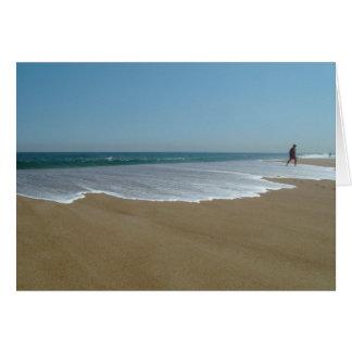 Playa 020 de Salisbury Tarjeta De Felicitación