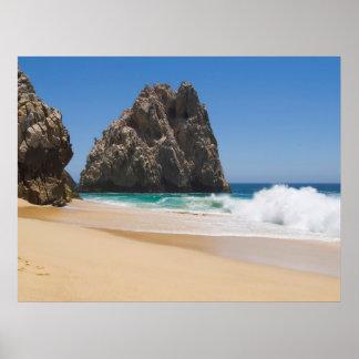 Playa 15 de Cabo San Lucas Poster