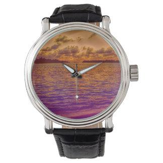 playa, 18 relojes de pulsera