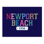 Playa 1906 de Newport Postal