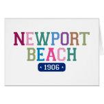 Playa 1906 de Newport Tarjeton