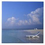 Playa 3 azulejo cuadrado grande