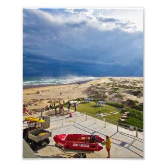 Playa 3 de Birubi Impresion Fotografica