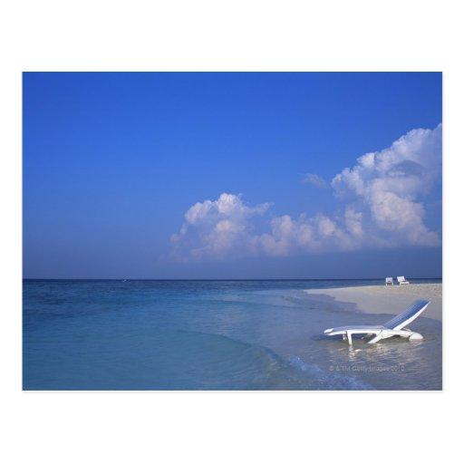 Playa 3 tarjetas postales