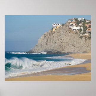 Playa 7 de Cabo San Lucas Poster