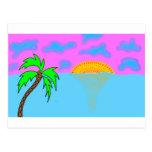 playa abstracta postales