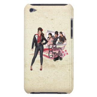 Playa adolescente - chicas del motorista iPod touch Case-Mate cobertura