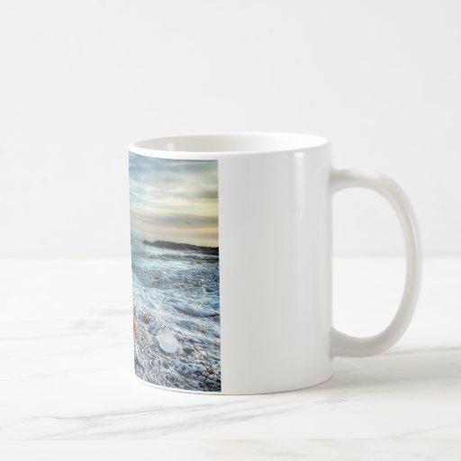Playa adriática tazas